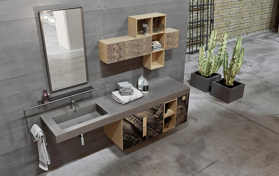 Vintage salle de bain berkhout concept